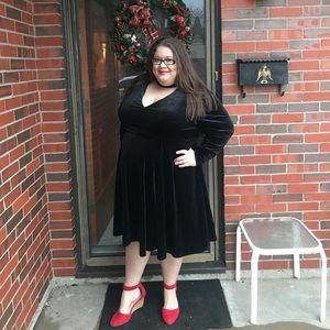 Torrid Velvet Dress